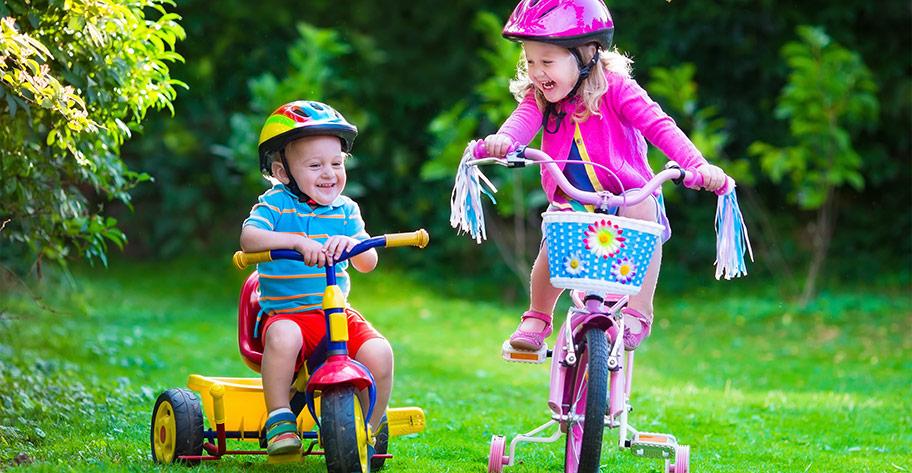 Balanscykel eller trehjuling - vilken barncykel bör jag köpa?